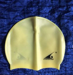 Hat for the pool silicone