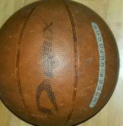 Ball basketball used.