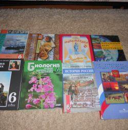 6. sınıf ders kitapları