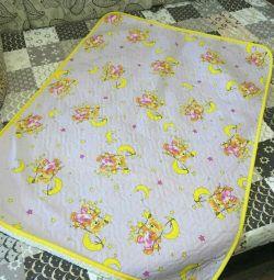 Blanket in crib or stroller