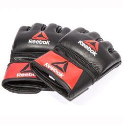 Professional leather gloves Reebok (MMA)