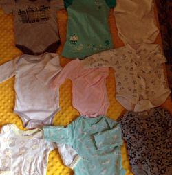 Боді, сорочечки, штанці 46-62 разм