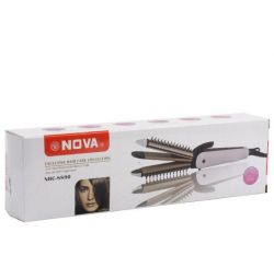 The iron rectifier the curling iron corrugation 3 in 1 Nova 8890