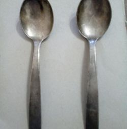 Tablespoons Melchior-silver, USSR