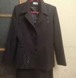 Suit (jacket + skirt)