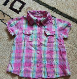 Βαμβακερό πουκάμισο για 3 χρόνια