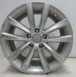 Cast disc 7.5JR17H2 Volkswagen Passat B7 oem 3aa601025d (scuffed) (cl-3)
