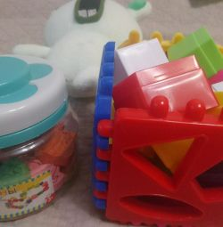 Іграшки для дітей 2+, 3+