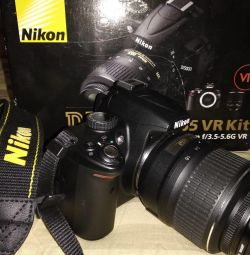 Nikon D5000. The camera is a mirror. New.