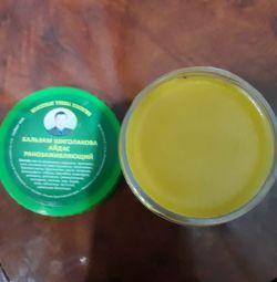 Sinüzit, morluklar, yanıklar tedavisinde Shigolakova Balm 100