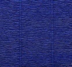 Κυματοειδές χαρτί. 50cm * 2,5m 180g / m2 χρώμα555 σκούρο μπλε