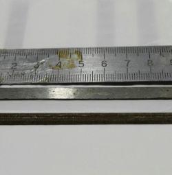 Elektrolink 102 x 6 mm bıçaklar. Yeni olanlar.