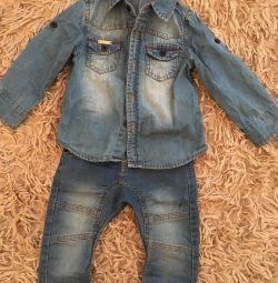 Jeans și cămașă