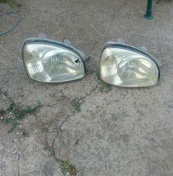 Headlight right santa fe classic