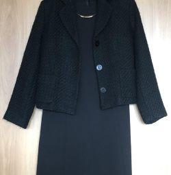 Платье, блузка и пиджак (немного б/у)