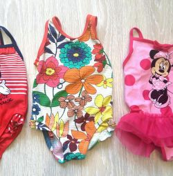 Swimsuits Next and others on the baby