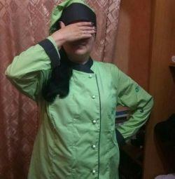 Chef's suit female