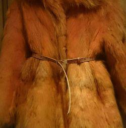 Γούνινο παλτό 46-48r