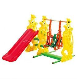 Slide swing