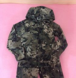 Varan camouflage suit, 8-9 years old, gift t-shirt