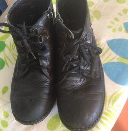 Μπότες δέρματος παιδιών rr-p34-35