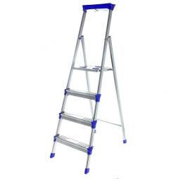 Stepladder Nick 4 steps metal, new