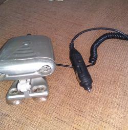 Ionizer in the car