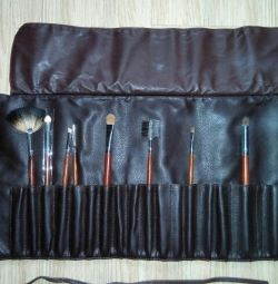 Organizer for Jean's Brushes + Brushes