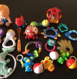 Toys, rattles