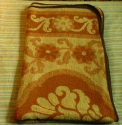 Yünlü battaniye 185x150 cm