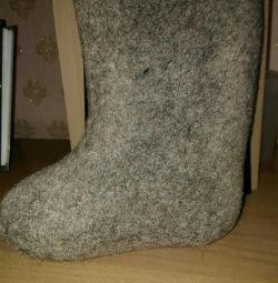 Felt boots new