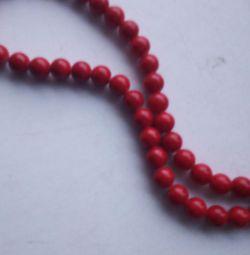 Κόκκινες χάντρες