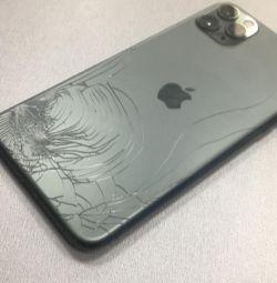 Заміна заднього скла (корпусу) iPhone X лазером