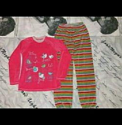 Velve Pajamas 130-140