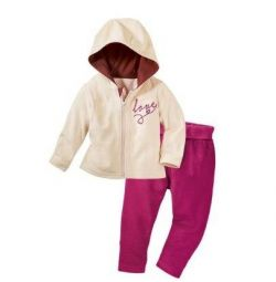 Lupilu Velor Suit for girl.