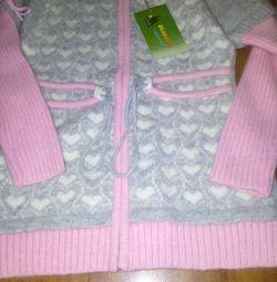 Angora sweatshirt