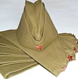 Soldier's cap with a star