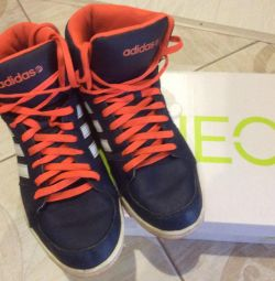 Adidas neo leather sneakers