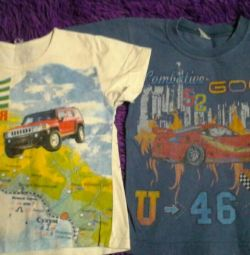 T-shirts for a child 4 years old