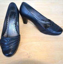 Pantofi negri pentru femei, mărime 35
