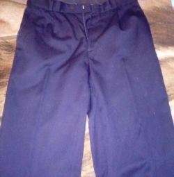 Uniformă școlară, pantaloni