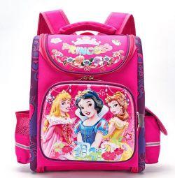 Рюкзак ранець шкільний ОРТО принцеси