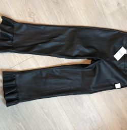 New pants from eco-leather 44p