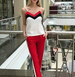 Stylish suit two, color red
