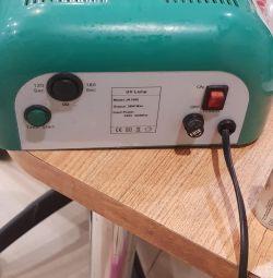 Лампа для наращивания ногтей
