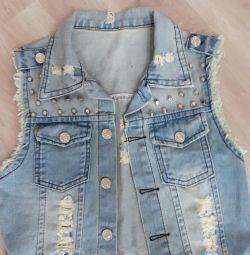 Jeans vesta