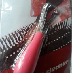 Штучка для виймання волосся з масажної щітки для в