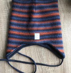 Winter hat Reima on fleece, 52 (ideally)