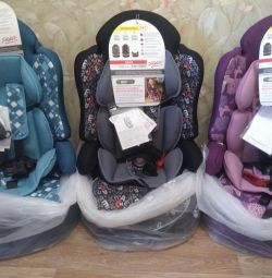 New Siger Prime car seat isofix 9-36 kg