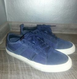 Sneakers ZARA genuine suede